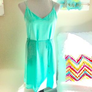 Dresses & Skirts - Strappy turquoise/ mint green summer spring dress
